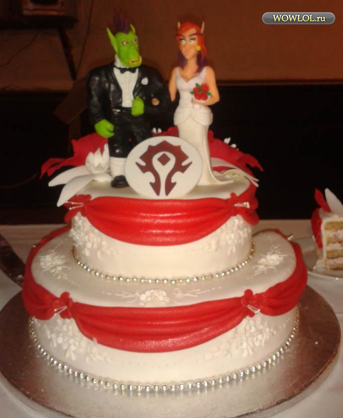 Свадебный торт ордынцев