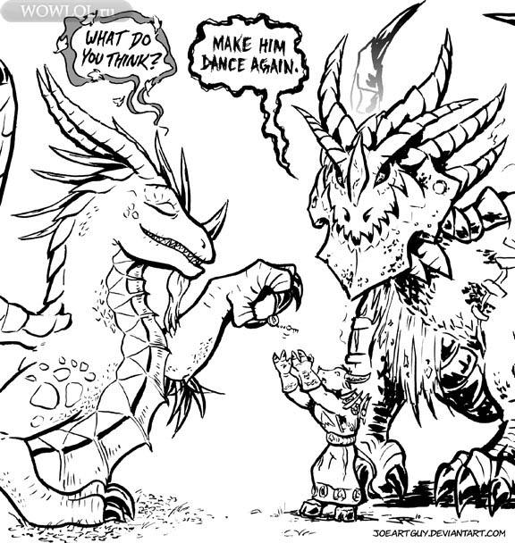 Драконы и таурен