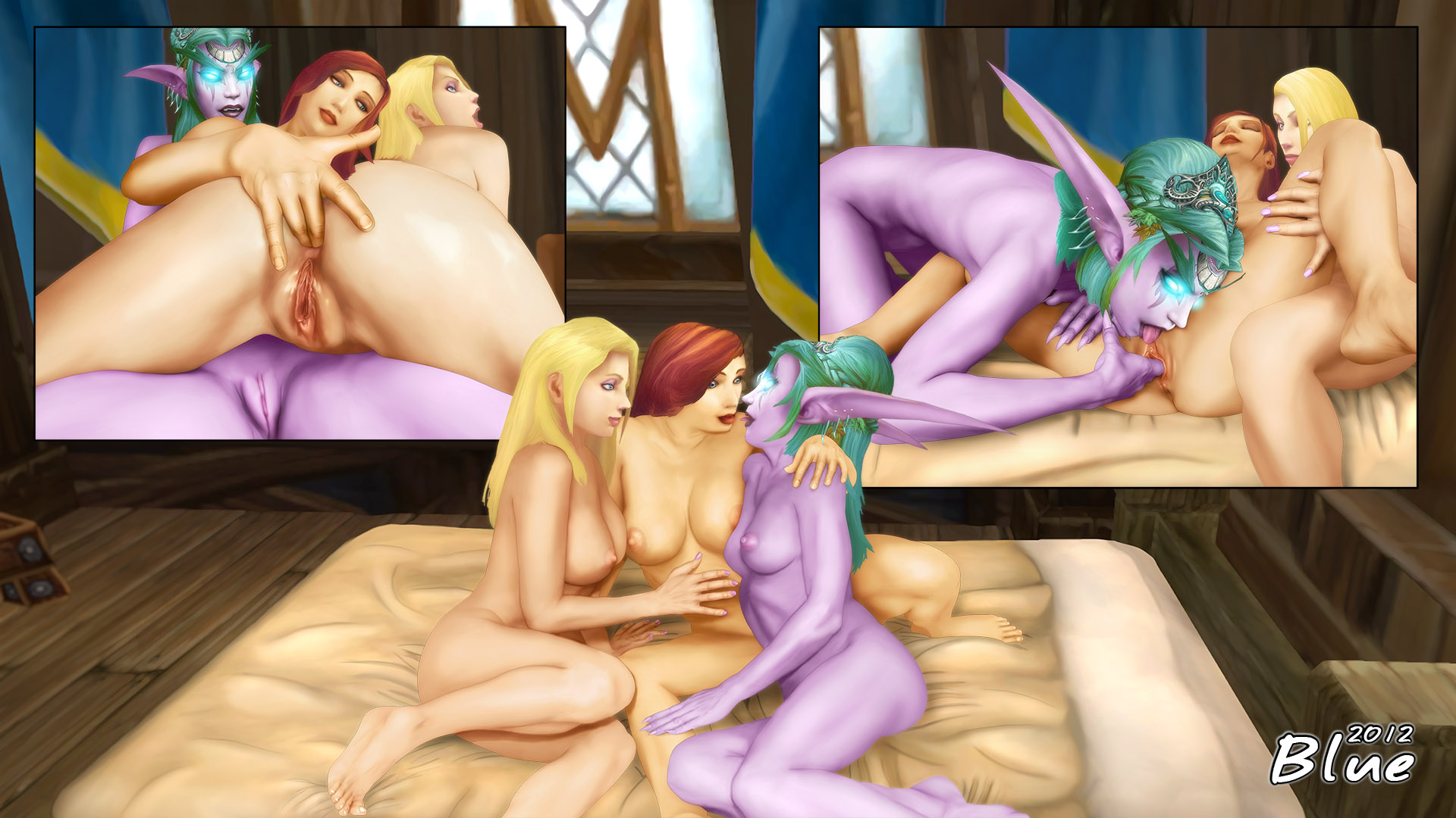 Blood elf tyrande porn porn natural whores