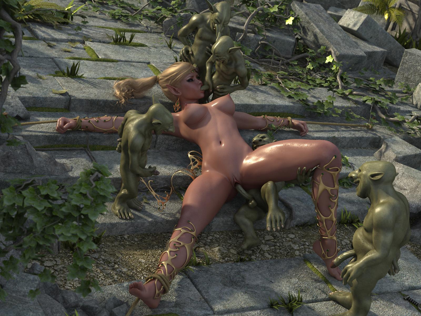 Порно гоблины сексуют эльфов фото 776-598