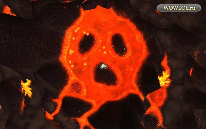 Огненный череп на Огненной передовой