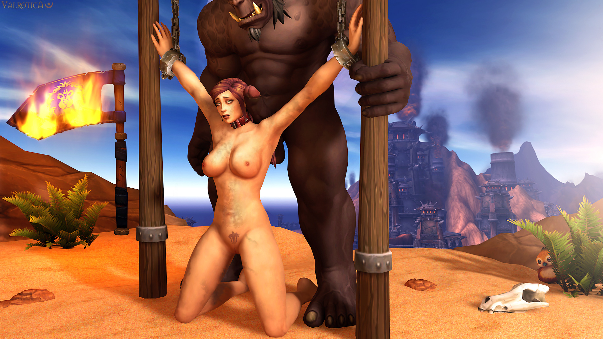 World of warcraft human boobs porn scene