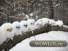 Зимнее творчество