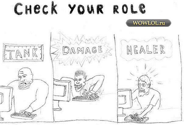 Роли в MMORPG