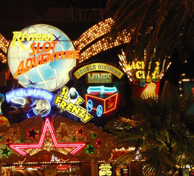 Игры в казино Лас-Вегас