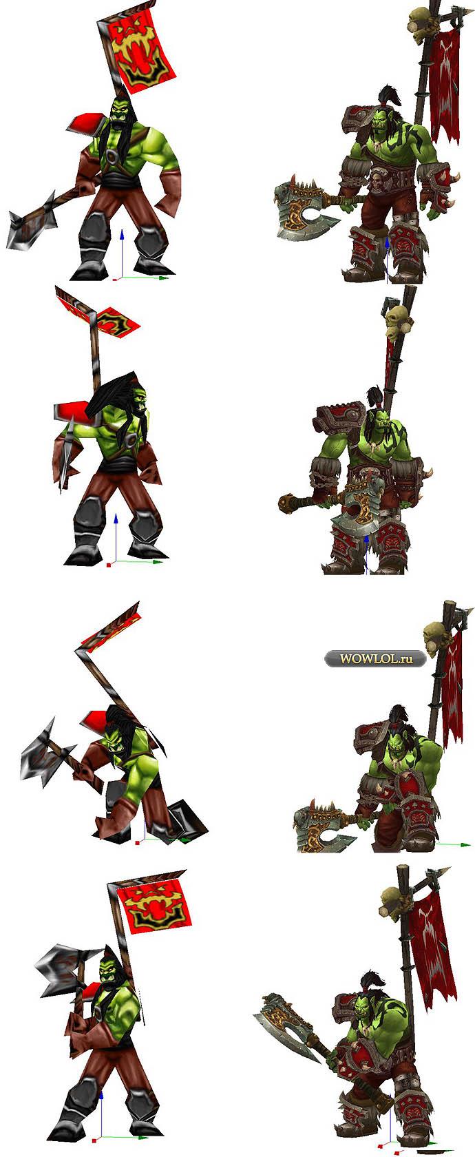 Громмаш из ремейка warcraft 3