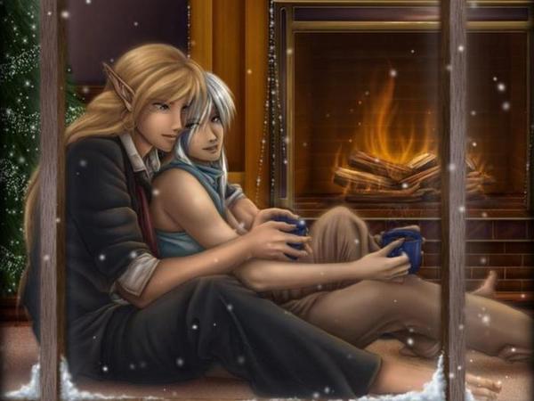 Зимний вечер в Кель'Таласе