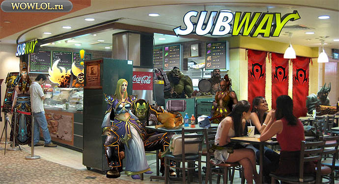 WoW Subway