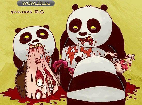 Панды жрут игроков