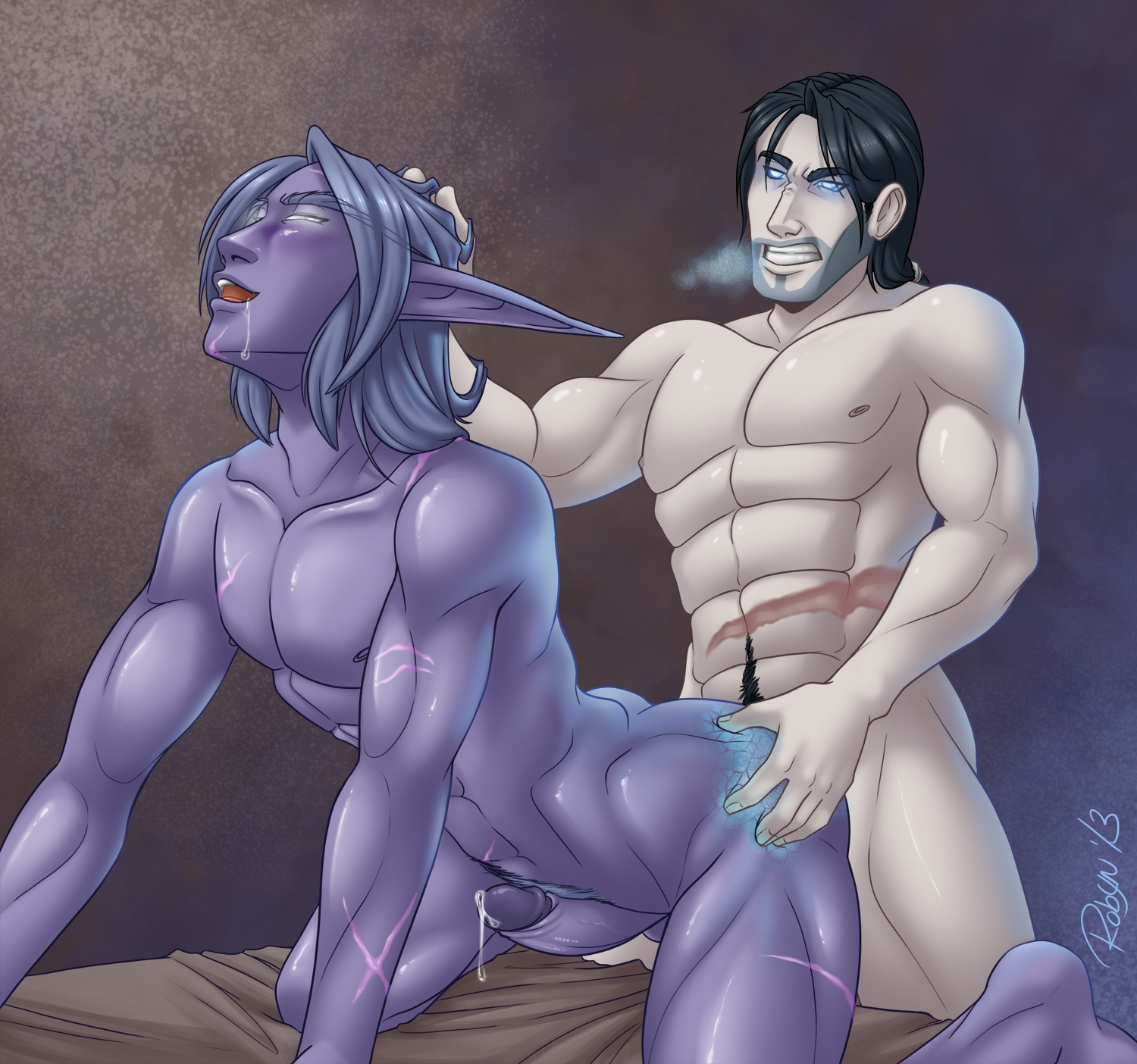 Night elf elf hentai - top 100  erotic comic
