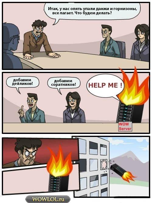 Тем временем в офисе Blizzard