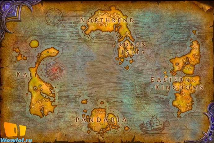 Правильная карта
