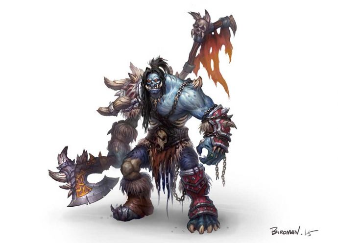 Undead Grommash Hellscream