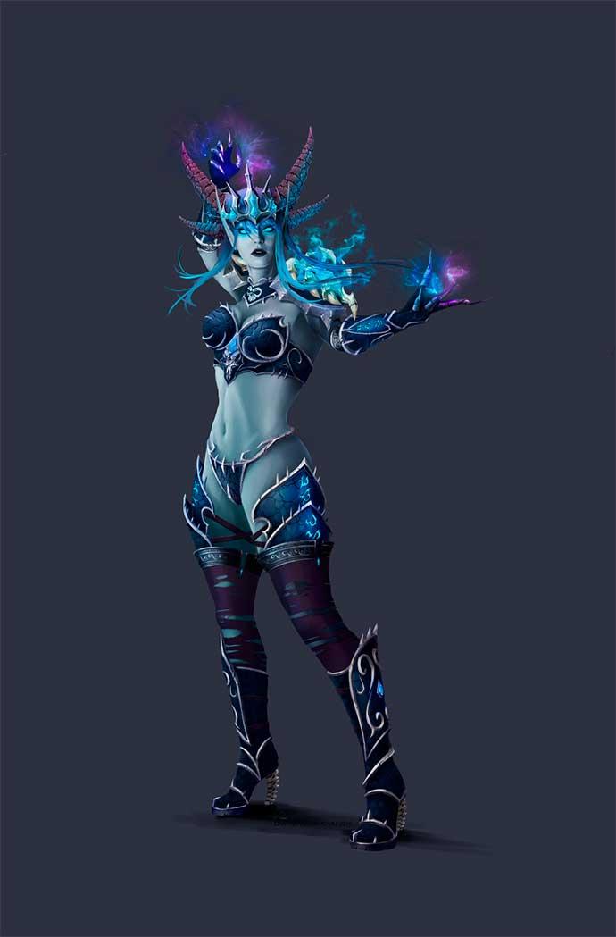 Синдрагоса, Королева ледяных драконов