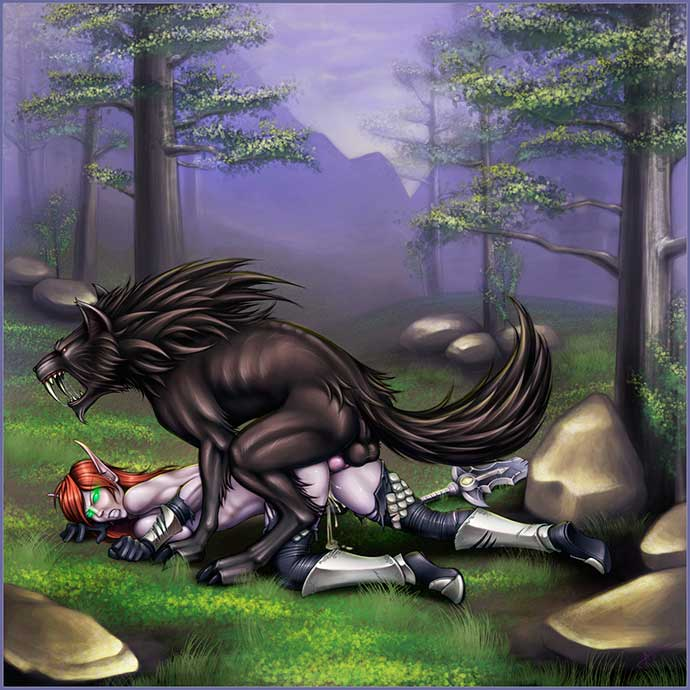азеротские орки любят эльфиек