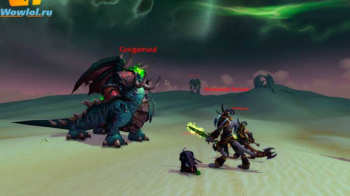 Legion - Demon Invasion Testing. Вторжение Легиона. . .!