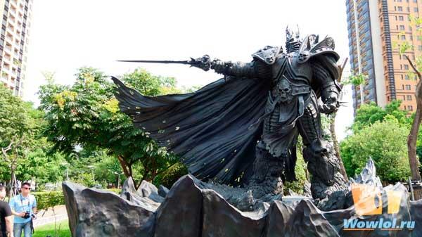 В тайваньском Тайчжуне появилась огромная статуя Короля-лича