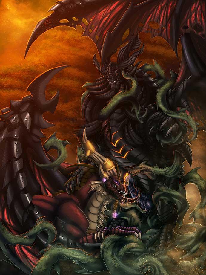 wowfap, dragons