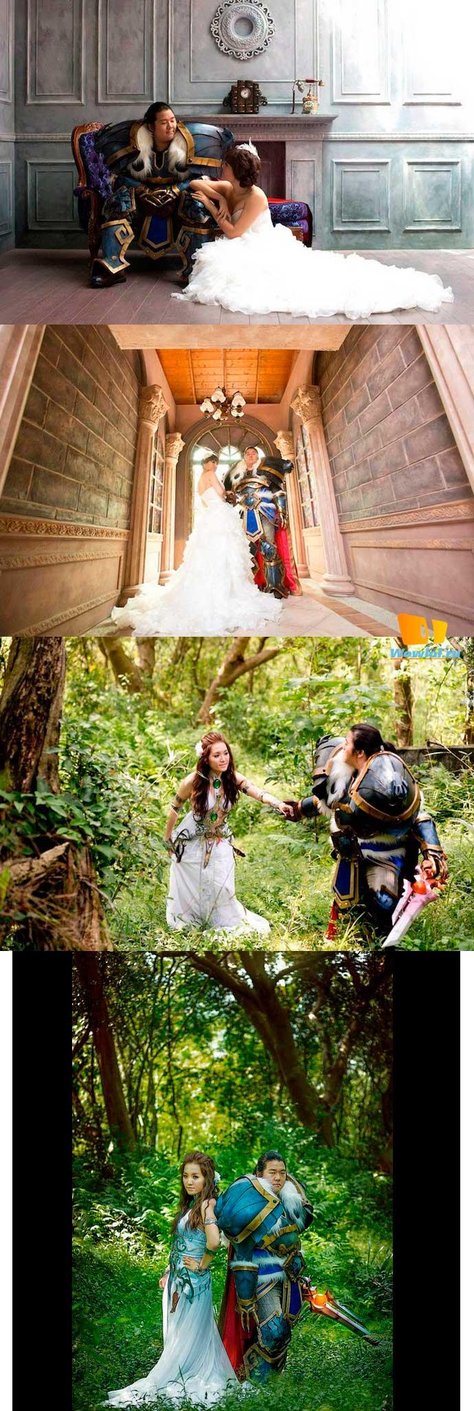 Косплей-костюмы для тематической свадьбы