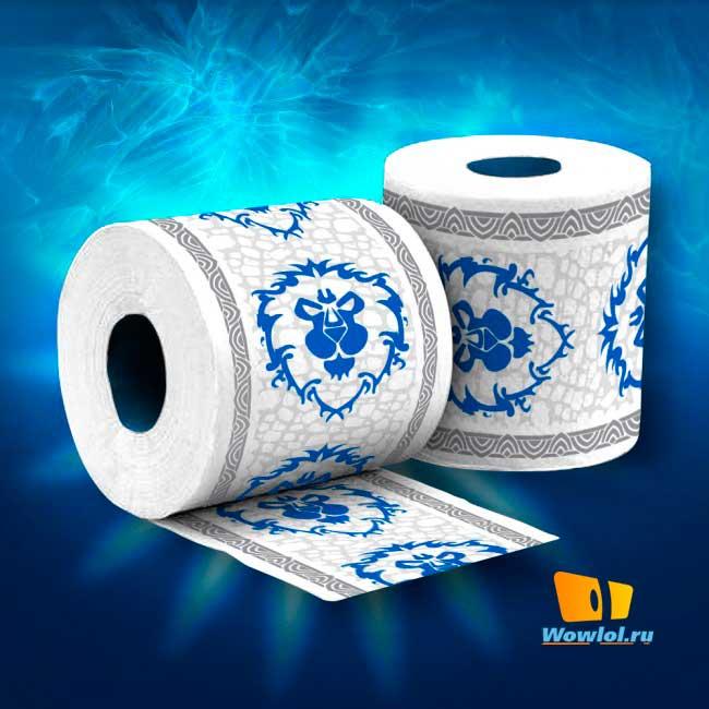 World of Warcraft Alliance/Horde Toilet Paper