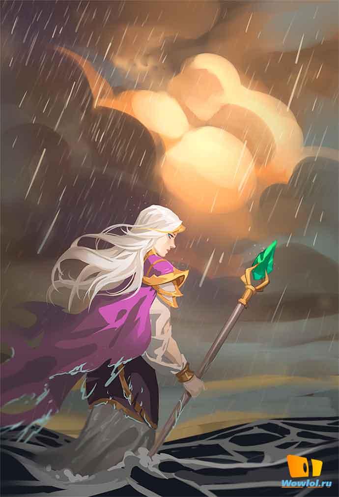 идёт в дождь