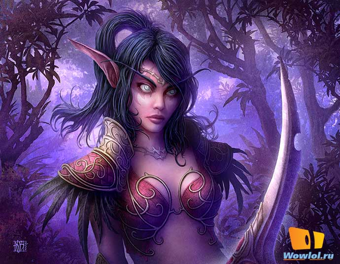 night elf female