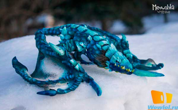 Синий Протодракон