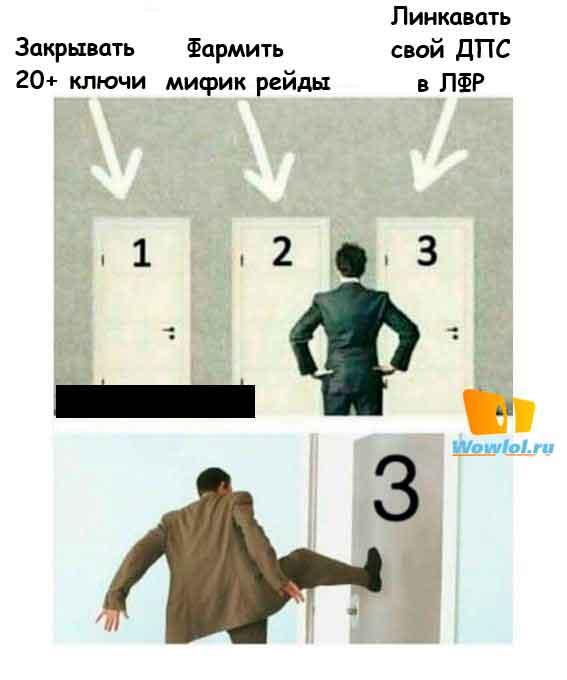 с ноги в дверь