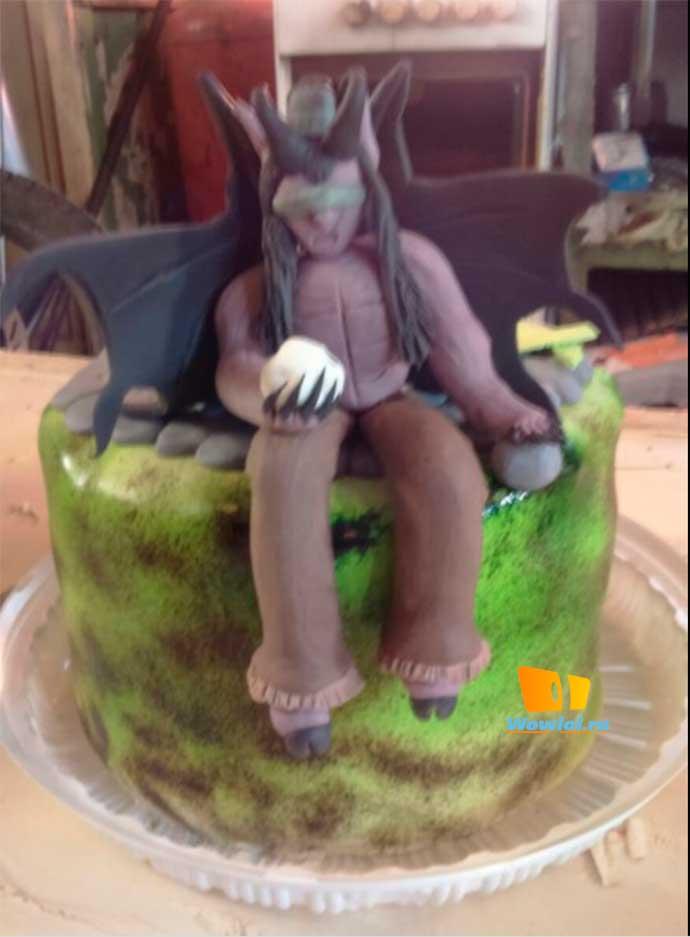 Вов не торт. . . хотя нет