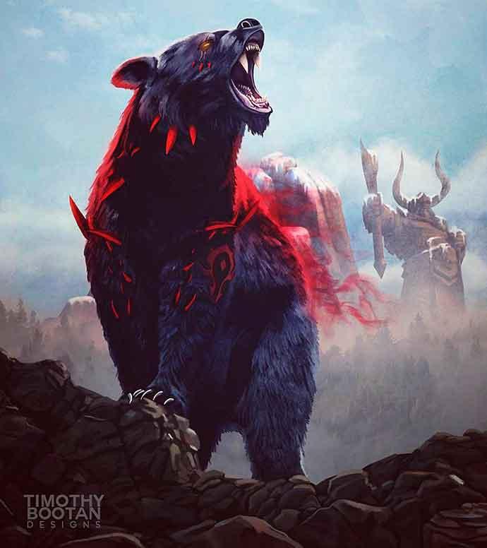 я бурый медведь