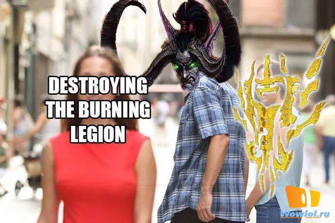 бернинг легион
