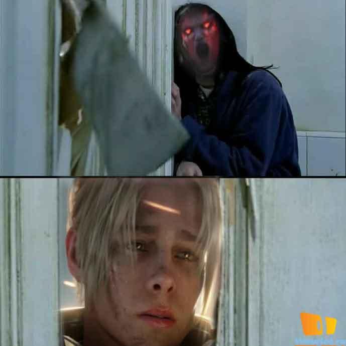 ах, этот топор в двери