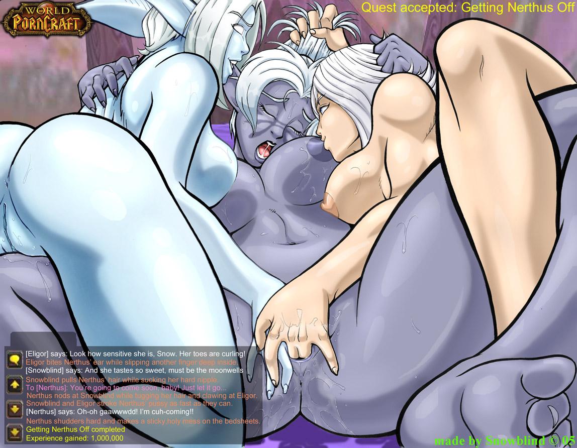 Хентай ночные эльфы порно 15 фотография