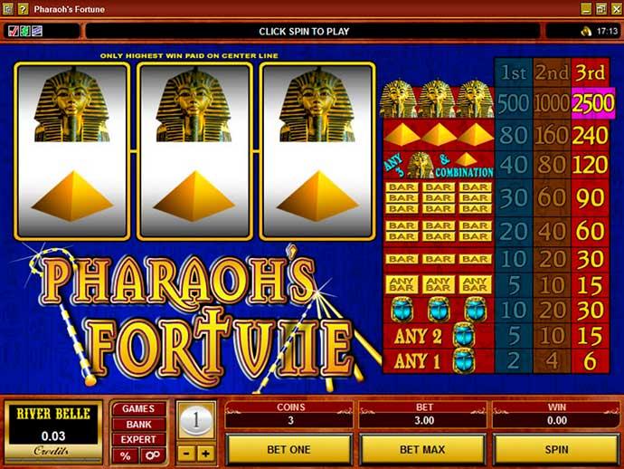 Слот о фараоне от Микрогейминг без регистрации