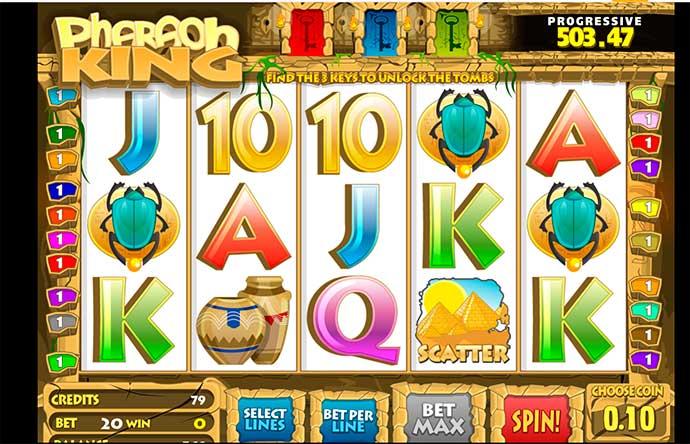 Игровой автомат с фараоном от Betsoft Gaming играть без регистрации