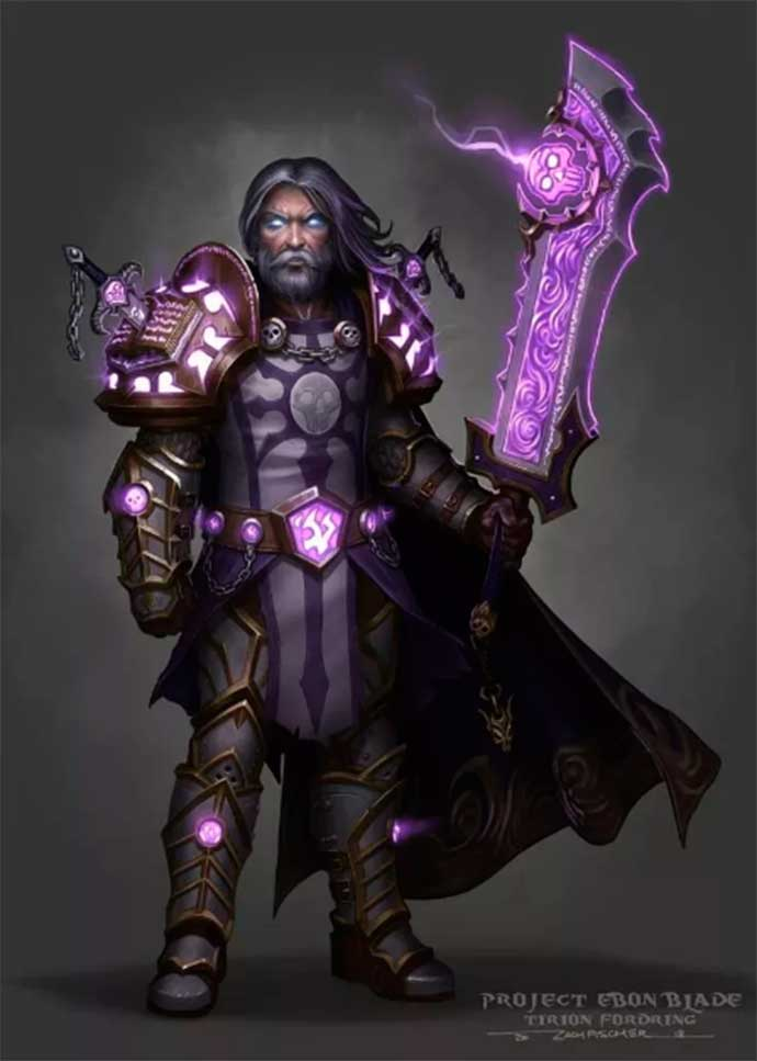 Тирион Фордринг рыцарь смерти