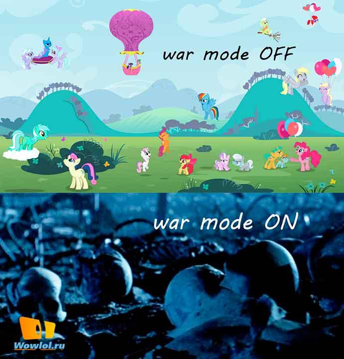 War mode