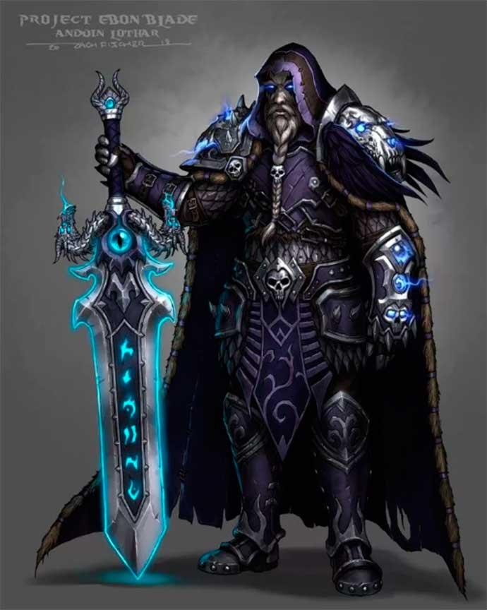Андуин Лотар рыцарь смерти